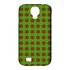 Christmas Paper Wrapping Patterns Samsung Galaxy S4 Classic Hardshell Case (pc+silicone)