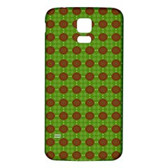 Christmas Paper Wrapping Patterns Samsung Galaxy S5 Back Case (white)