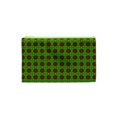 Christmas Paper Wrapping Patterns Cosmetic Bag (xs)