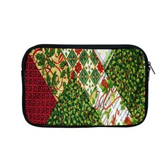 Christmas Quilt Background Apple Macbook Pro 13  Zipper Case