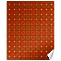 Christmas Paper Wrapping Paper Pattern Canvas 11  X 14