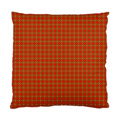 Christmas Paper Wrapping Paper Pattern Standard Cushion Case (one Side)