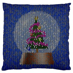 Christmas  Snow Large Cushion Case (two Sides)