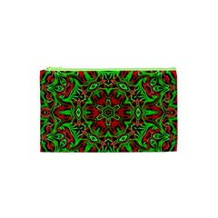 Christmas Kaleidoscope Pattern Cosmetic Bag (xs)