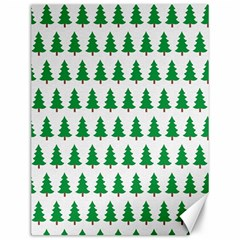 Christmas Background Christmas Tree Canvas 12  X 16