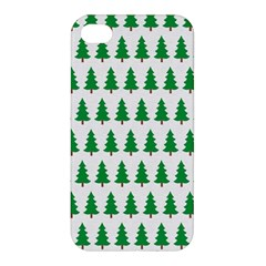 Christmas Background Christmas Tree Apple Iphone 4/4s Premium Hardshell Case