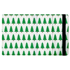 Christmas Background Christmas Tree Ipad Mini 4 by Wegoenart