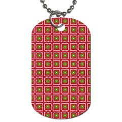 Christmas Paper Wrapping Dog Tag (one Side)