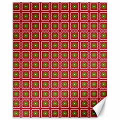 Christmas Paper Wrapping Canvas 11  X 14  by Wegoenart