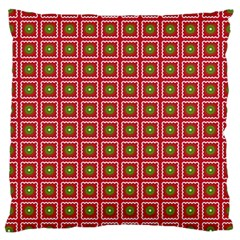 Christmas Paper Wrapping Large Cushion Case (one Side)
