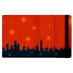 City Light Night Lights Evening Apple Ipad Pro 12 9   Flip Case
