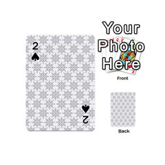 Ornamental Decorative Floral Playing Cards 54 (mini)