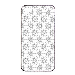 Ornamental Decorative Floral Apple Iphone 4/4s Seamless Case (black)