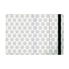 Ornamental Decorative Floral Apple Ipad Mini Flip Case