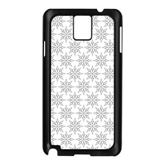 Ornamental Decorative Floral Samsung Galaxy Note 3 N9005 Case (black)