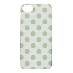 Green Dots Modern Pattern Paper Apple Iphone 5s/ Se Hardshell Case
