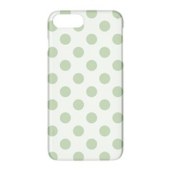 Green Dots Modern Pattern Paper Apple Iphone 7 Plus Hardshell Case