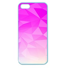 Low Poly Triangle Pattern Apple Seamless Iphone 5 Case (color)