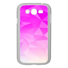 Low Poly Triangle Pattern Samsung Galaxy Grand Duos I9082 Case (white)