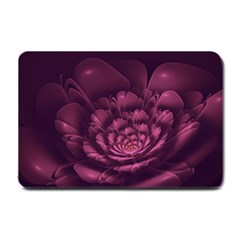 Fractal Blossom Flower Bloom Small Doormat