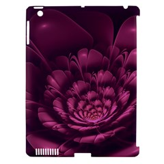 Fractal Blossom Flower Bloom Apple Ipad 3/4 Hardshell Case (compatible With Smart Cover) by Wegoenart