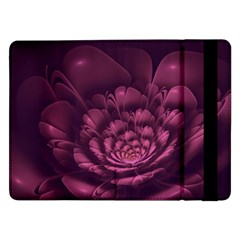 Fractal Blossom Flower Bloom Samsung Galaxy Tab Pro 12 2  Flip Case