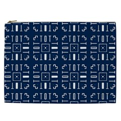 Pattern Background Abstract Design Cosmetic Bag (xxl)