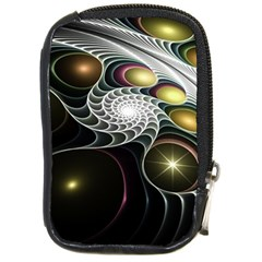 Fractal Bulbs Fantasy Curve Compact Camera Leather Case