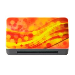 Abstract Background Design Memory Card Reader With Cf