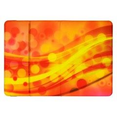 Abstract Background Design Samsung Galaxy Tab 8 9  P7300 Flip Case