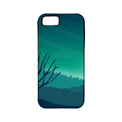 Landscape Wallpaper Background Apple Iphone 5 Classic Hardshell Case (pc+silicone)