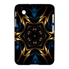 Pattern Texture Copper Teal Design Samsung Galaxy Tab 2 (7 ) P3100 Hardshell Case