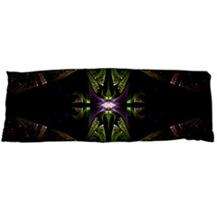 Fractal Green Tin Pattern Texture Body Pillow Case (dakimakura)