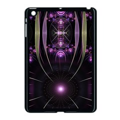 Fractal Purple Elements Violet Apple Ipad Mini Case (black)