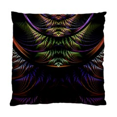 Fractal Colorful Pattern Fantasy Standard Cushion Case (two Sides)