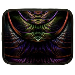 Fractal Colorful Pattern Fantasy Netbook Case (xxl)