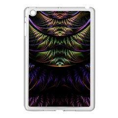 Fractal Colorful Pattern Fantasy Apple Ipad Mini Case (white)