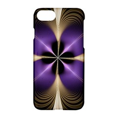 Fractal Glow Flowing Fantasy Apple Iphone 7 Hardshell Case