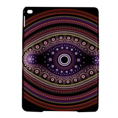 Fractal Pink Eye Fantasy Pattern Ipad Air 2 Hardshell Cases