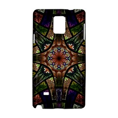 Fractal Detail Elements Pattern Samsung Galaxy Note 4 Hardshell Case