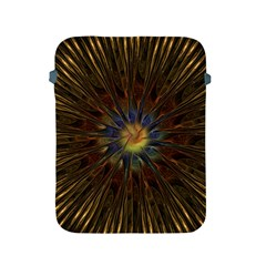 Fractal Golden Spiral Geometry Apple Ipad 2/3/4 Protective Soft Cases by Wegoenart