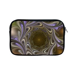 Fractal Waves Whirls Modern Apple Macbook Pro 13  Zipper Case
