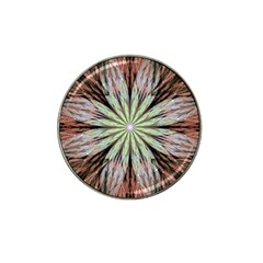 Fractal Floral Fantasy Flower Hat Clip Ball Marker (4 Pack)