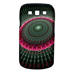 Fractal Circle Fantasy Texture Samsung Galaxy S Iii Classic Hardshell Case (pc+silicone) by Wegoenart