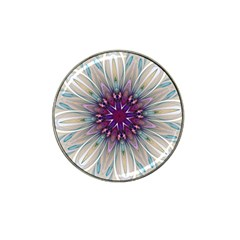 Mandala Kaleidoscope Ornament Hat Clip Ball Marker (10 Pack) by Wegoenart