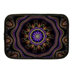 Fractal Vintage Colorful Decorative Netbook Case (medium)