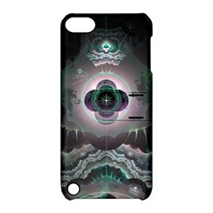 Fractal Pattern Texture Design Apple Ipod Touch 5 Hardshell Case With Stand