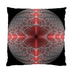 Fractal Diamond Circle Pattern Standard Cushion Case (one Side)