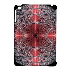 Fractal Diamond Circle Pattern Apple Ipad Mini Hardshell Case (compatible With Smart Cover)
