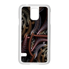 Geometry Math Fractal Art Samsung Galaxy S5 Case (white)